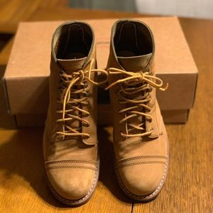 Red wing Iron Ranger boots!